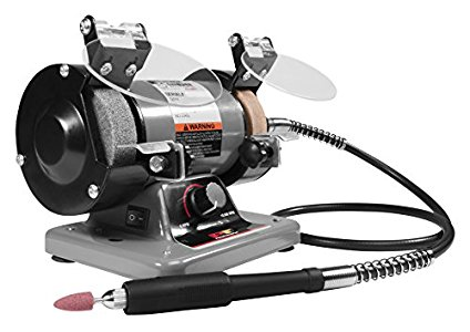 Performance Tool W50003 3 Mini Bench Grinder And Polisher Great